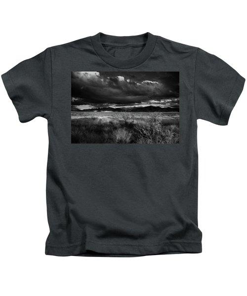 Desert Shadow Moods Kids T-Shirt