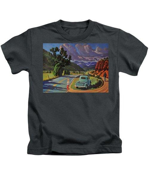 Divergent Paths Kids T-Shirt