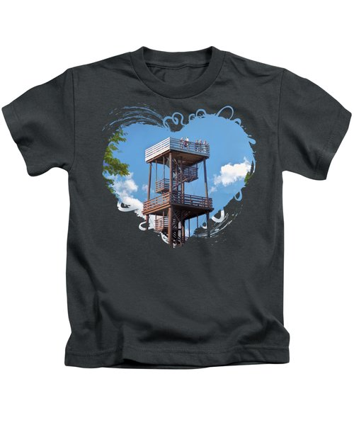 Door County Eagle Tower Peninsula State Park Kids T-Shirt