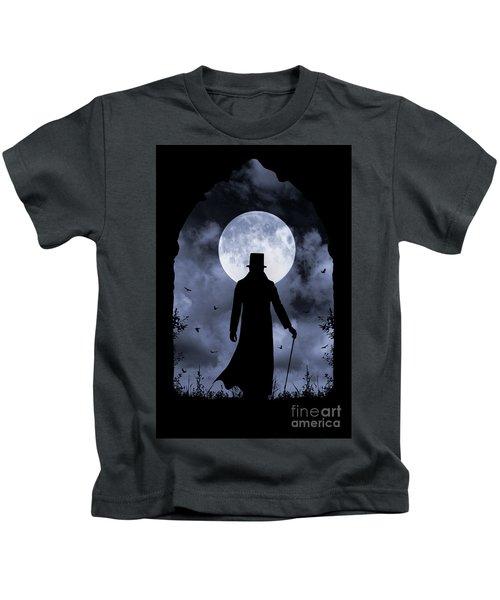 Dracula Returns Kids T-Shirt