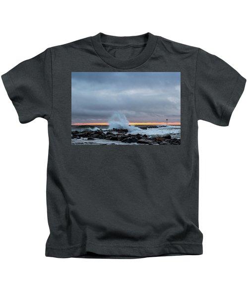 Dramatic Beginnings. Kids T-Shirt