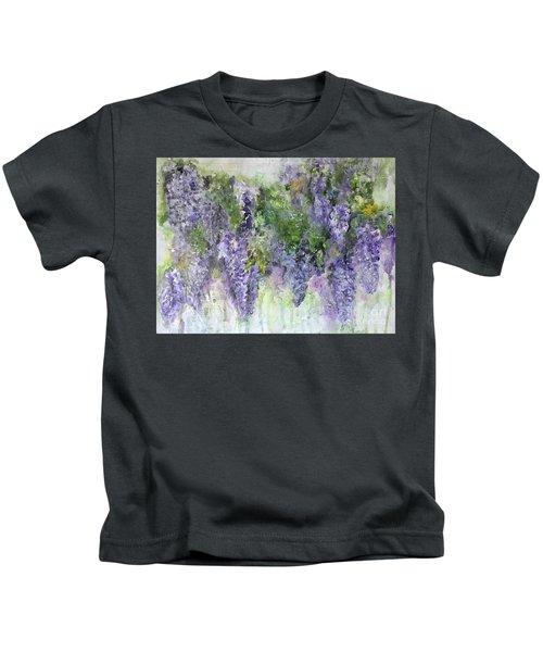 Dreams Of Wisteria Kids T-Shirt