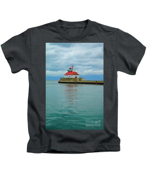 Duluth Lighthouse 2 Kids T-Shirt