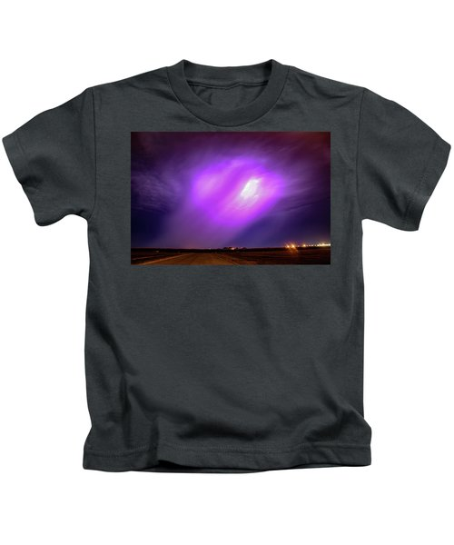 Dying Late Night Supercell 016 Kids T-Shirt