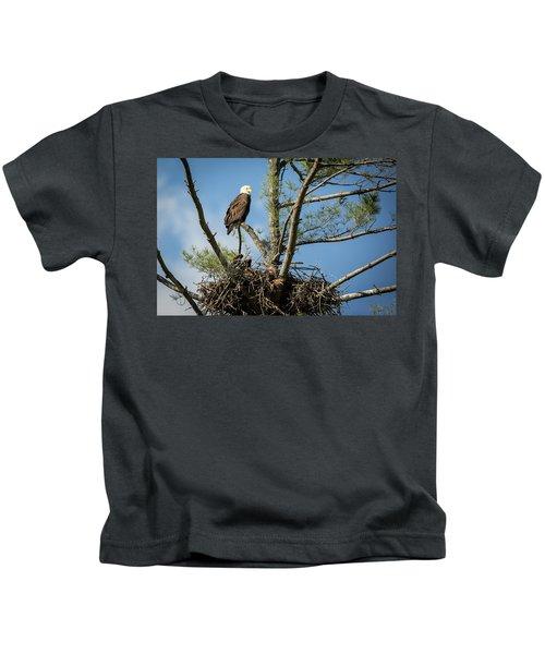 Eagle Portrait Kids T-Shirt