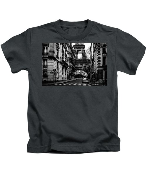 Eiffel Tower - Classic View Kids T-Shirt
