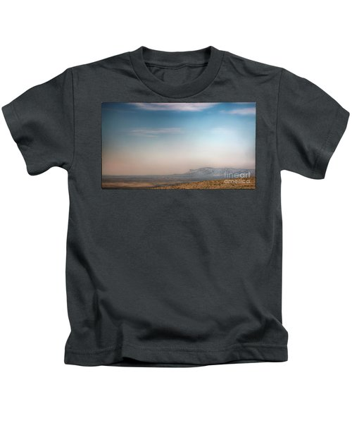 Guadalupe Mountains From A Distance Kids T-Shirt