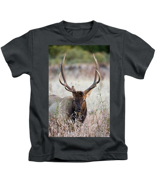 Elk Portrait Kids T-Shirt