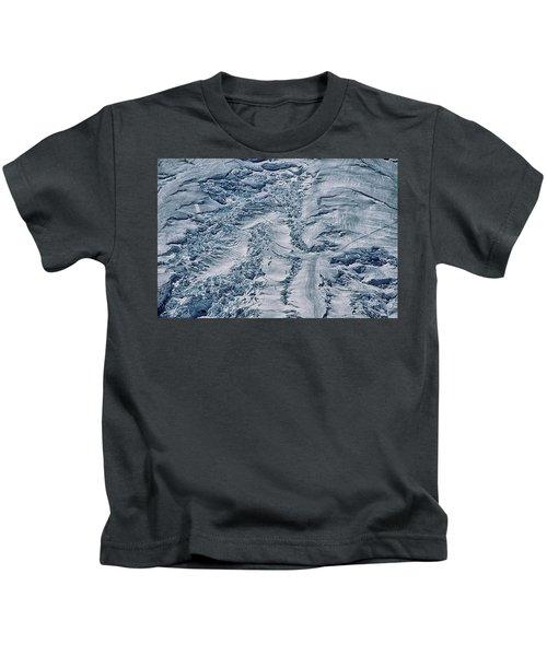 Emmons Glacier On Mount Rainier Kids T-Shirt