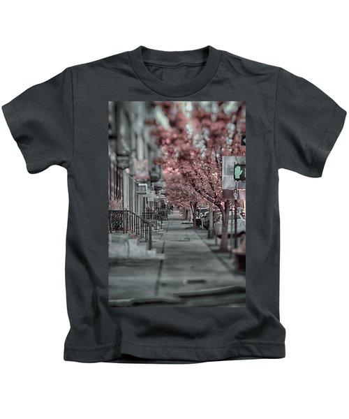 Empty Sidewalk Kids T-Shirt