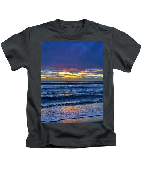 Entering The Blue Hour Kids T-Shirt