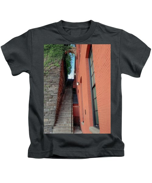 Exorcist Stairs Beauty Kids T-Shirt