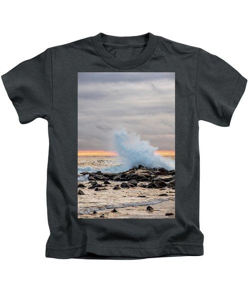 Explosive Sea 3 Kids T-Shirt