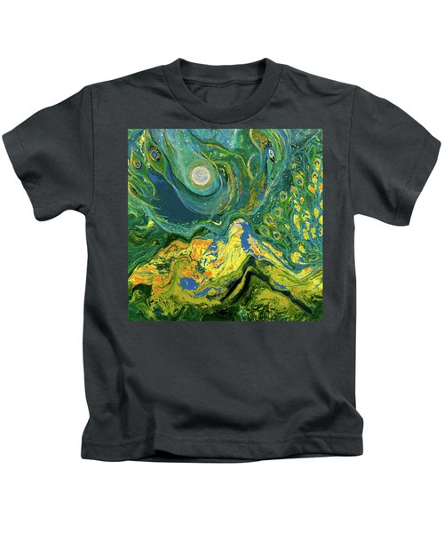 Eyes Of The Stars Kids T-Shirt