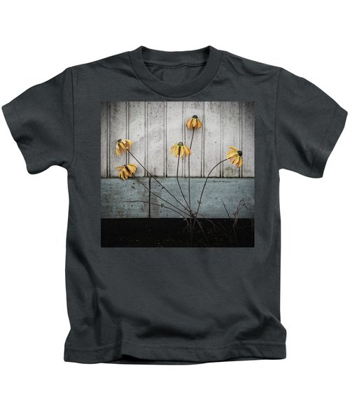 Fake Wilted Flowers Kids T-Shirt