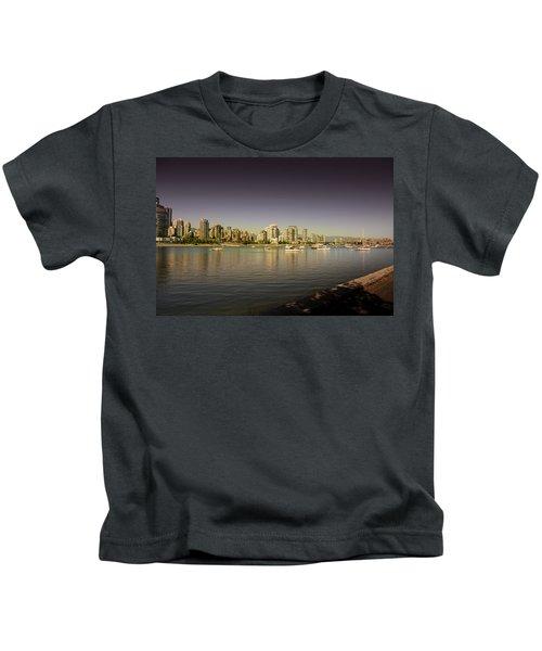 False Creek Golden Hour Kids T-Shirt
