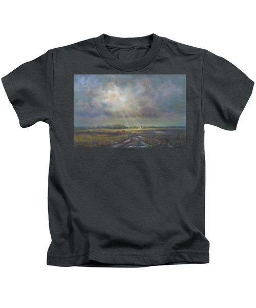 Farm In Spring Kids T-Shirt