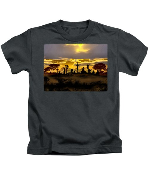 ... Father Forgive ... Kids T-Shirt