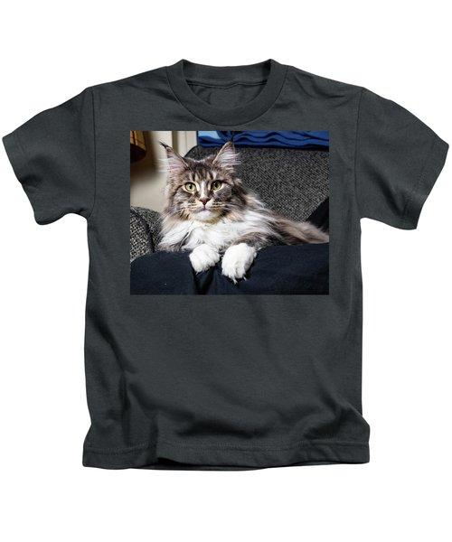 Feline Beauty Kids T-Shirt