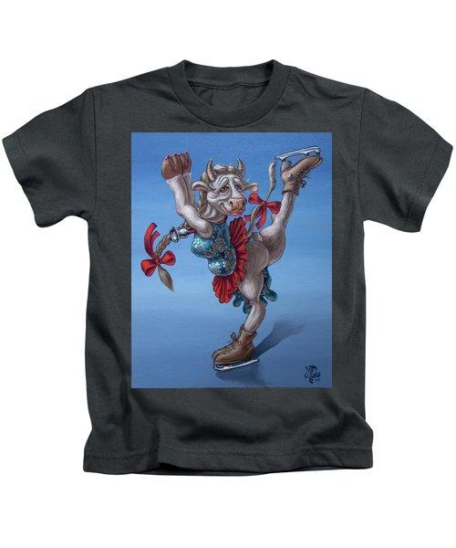 Figure Skater Kids T-Shirt