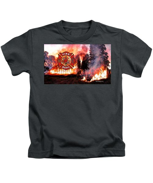 Fire Fighting 3 Kids T-Shirt