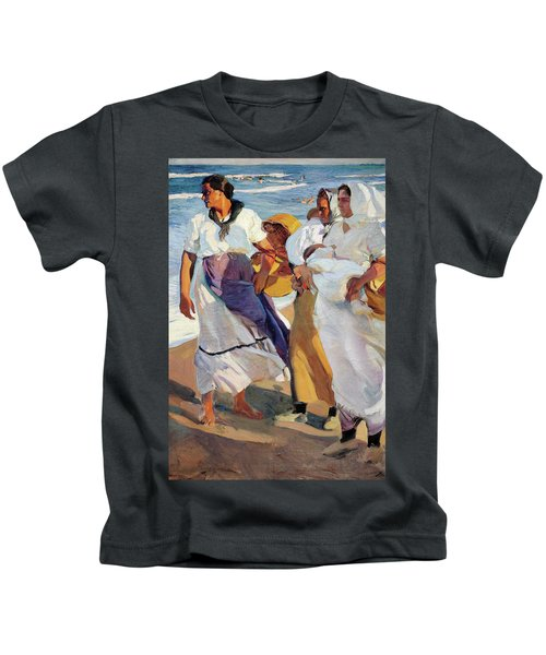 Fisherwomen From Valencia - Digital Remastered Edition Kids T-Shirt