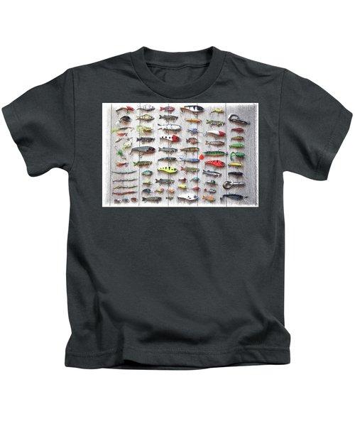 Fishing Lures - Dwp2669219 Kids T-Shirt