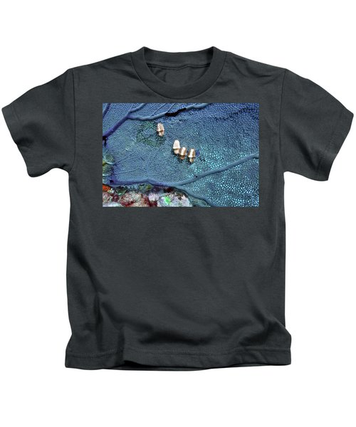 Flamingo Feast Kids T-Shirt