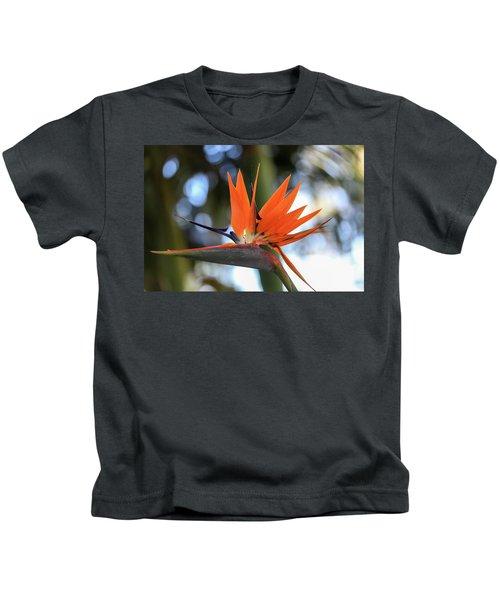 Flight To Paradise Kids T-Shirt