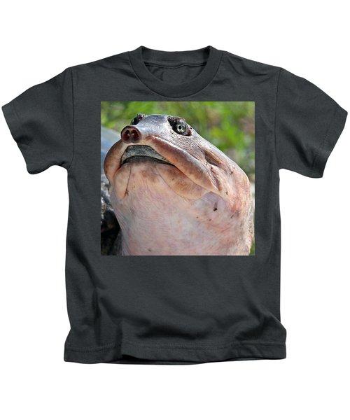 Florida Softshell Turtle Kids T-Shirt