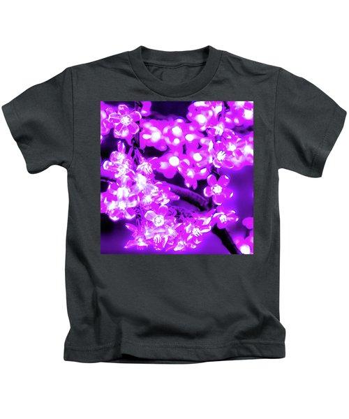 Flower Lights 2 Kids T-Shirt