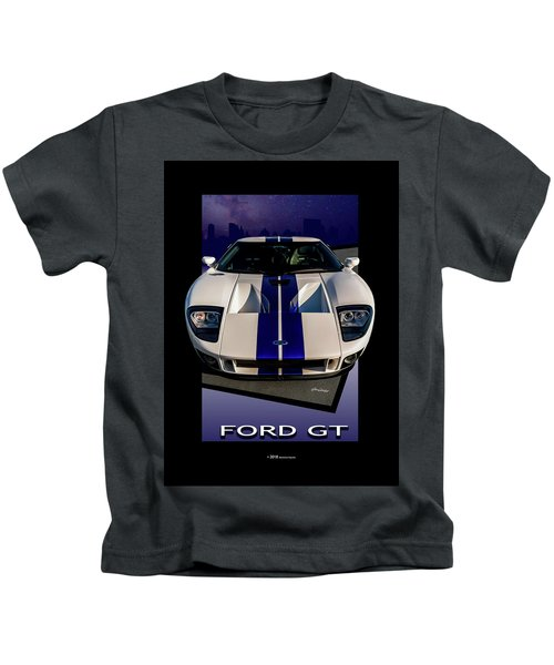Ford Gt - City Escape Kids T-Shirt