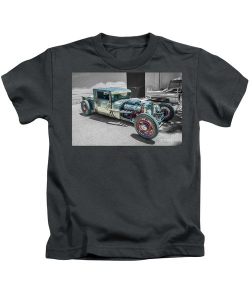 Ford Rat Rod Kids T-Shirt