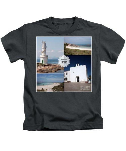 Formentera, Spain Kids T-Shirt