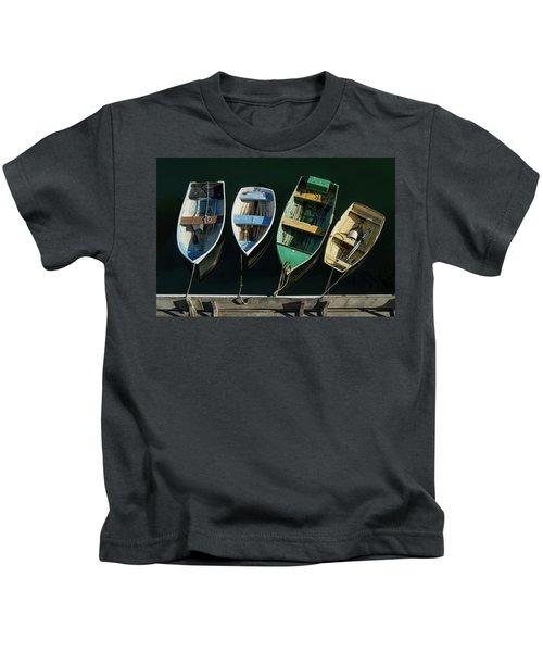Four Dinghies Kids T-Shirt