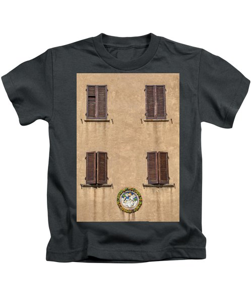 Four Windows Of Florence Kids T-Shirt