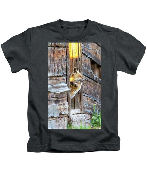 Fox Test  Kids T-Shirt