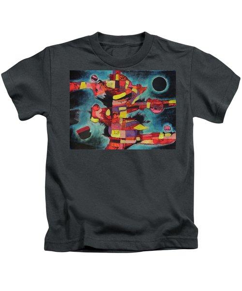 Fractured Fire Kids T-Shirt