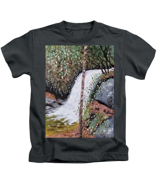 Frolictown Falls Kids T-Shirt