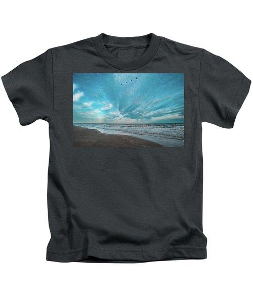 Galveston Island First Light Kids T-Shirt