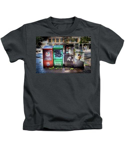 Gastown Street Newsstand Kids T-Shirt