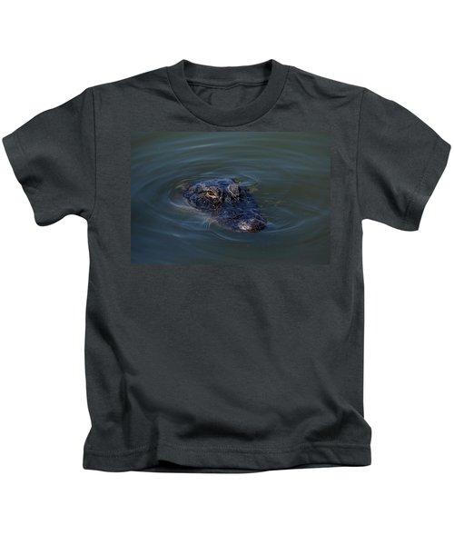 Gator Stare Kids T-Shirt