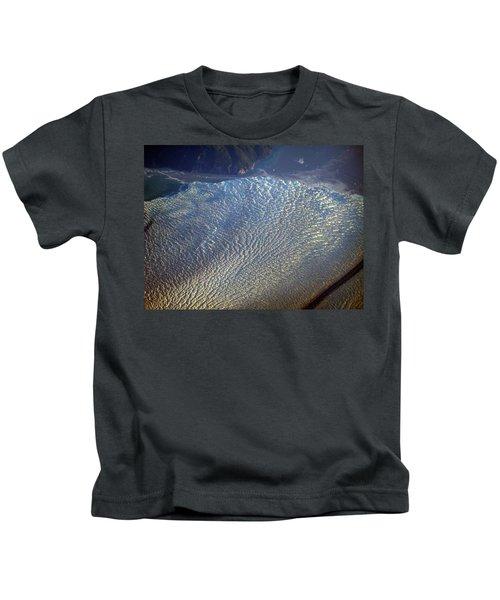 Glacier Texture Kids T-Shirt