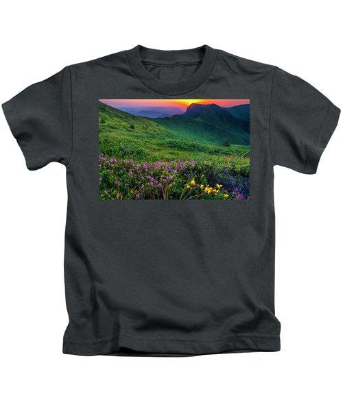 Goat Wall Kids T-Shirt