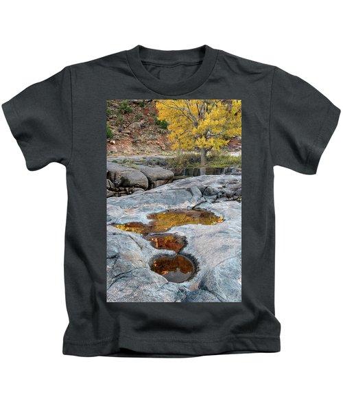 Gold Reflection Kids T-Shirt