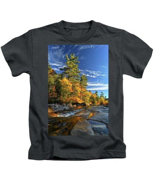 Golden Autumn Light Nh Kids T-Shirt