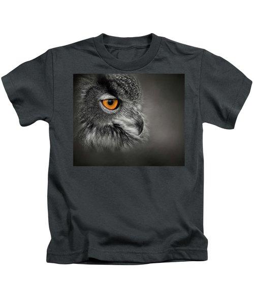 Golden Eye Kids T-Shirt