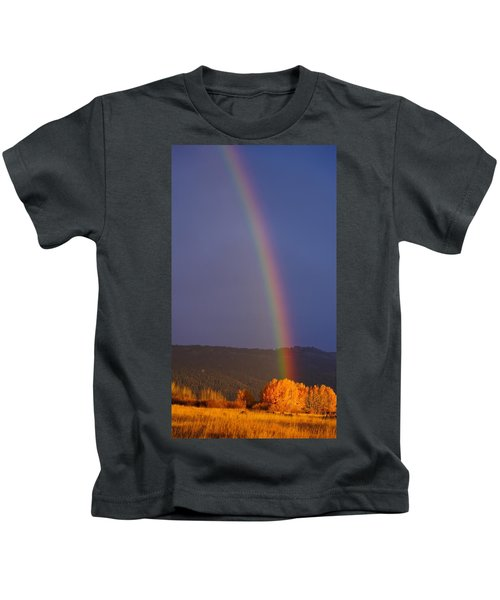 Golden Tree Rainbow Kids T-Shirt