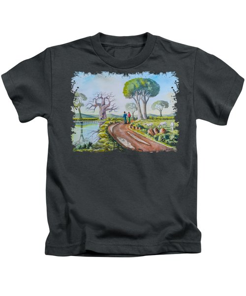 Good Old Days Kids T-Shirt
