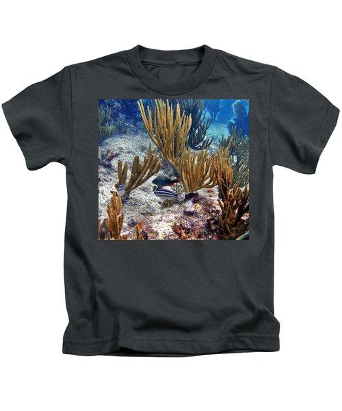 Gorgonian Parrotfish Kids T-Shirt